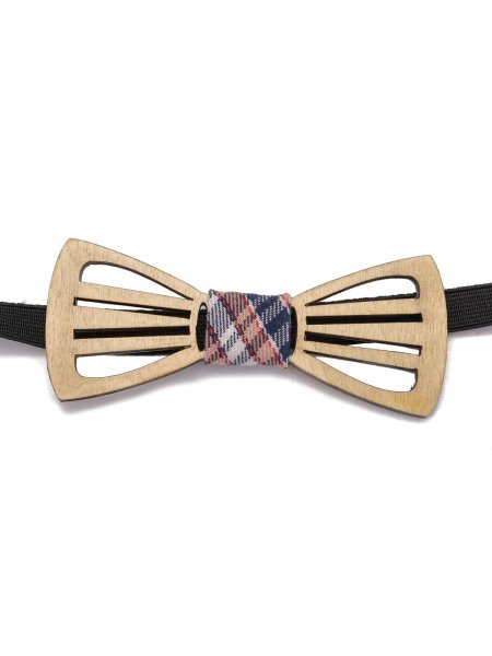 Hollow Wooden Bow Tie