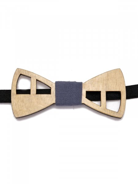 Shelby Wooden Bow Tie