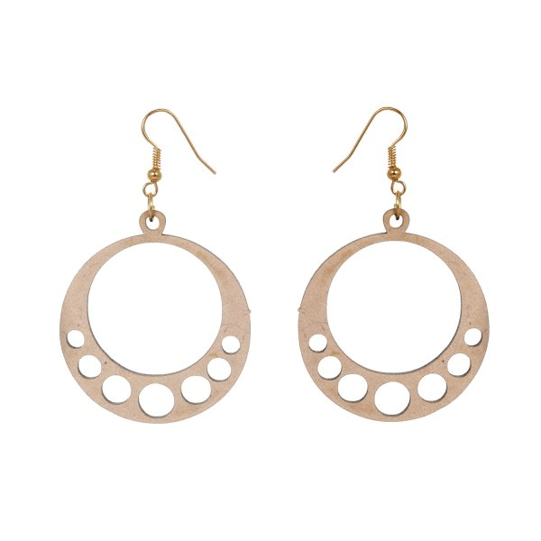 Wooden Lightweight Earring