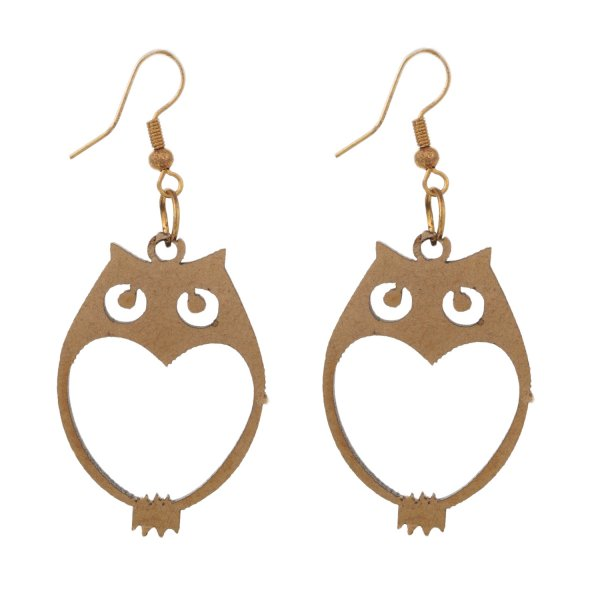 Stunning Owl Shaped Earring