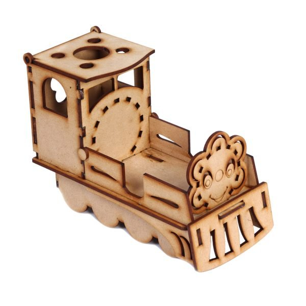 Pen & Visiting Card Holder- Train Shaped