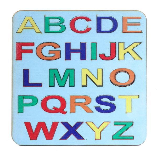 Colourful Wooden English Alphabets