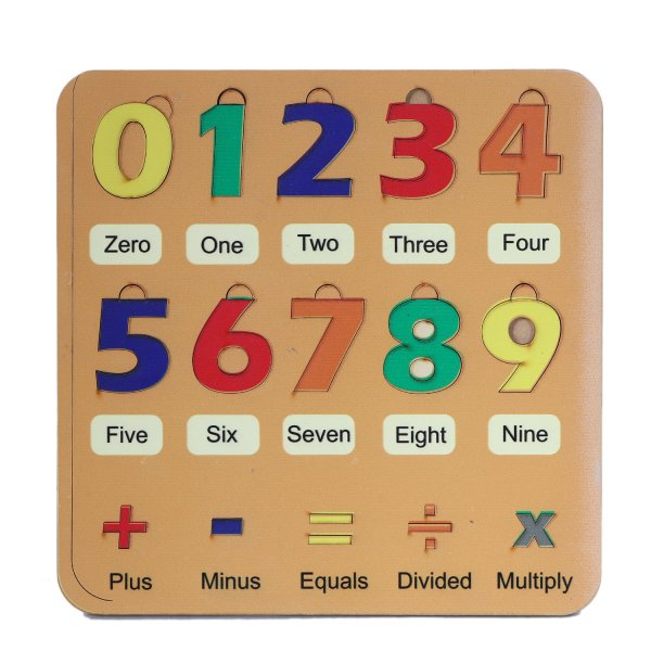 Numbers Learning Board