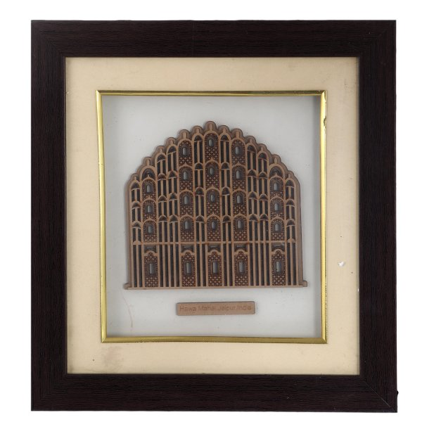 Hawa Mahal In Wooden Frame