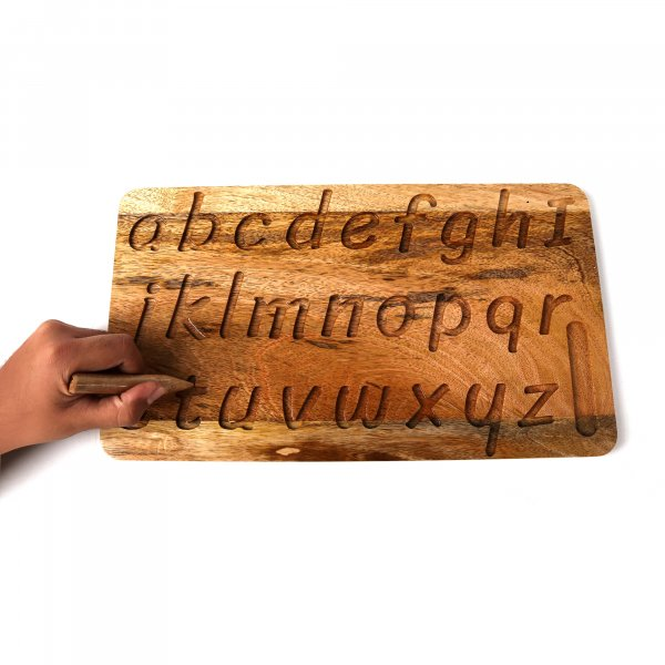 Lowercase Alphabet Tracing Board