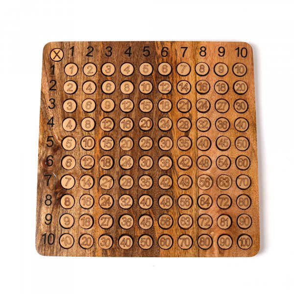 Wooden Arithmetic Board