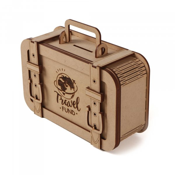 Travel Funds Saving Locker Suitcase Shaped