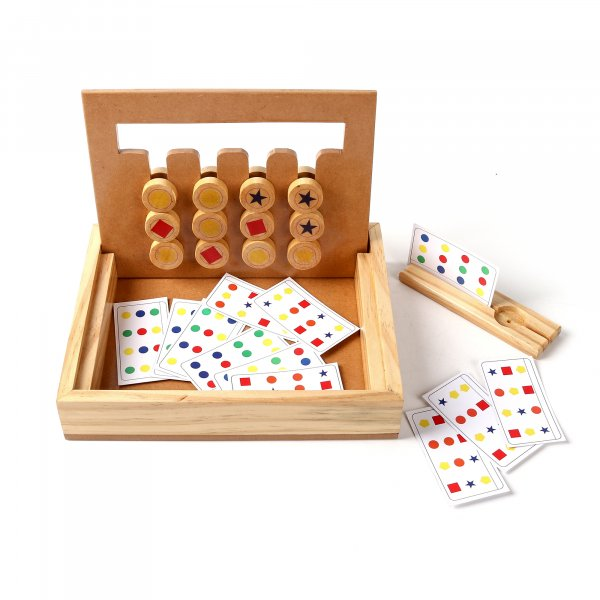 Wooden Abacus Teaching Toy