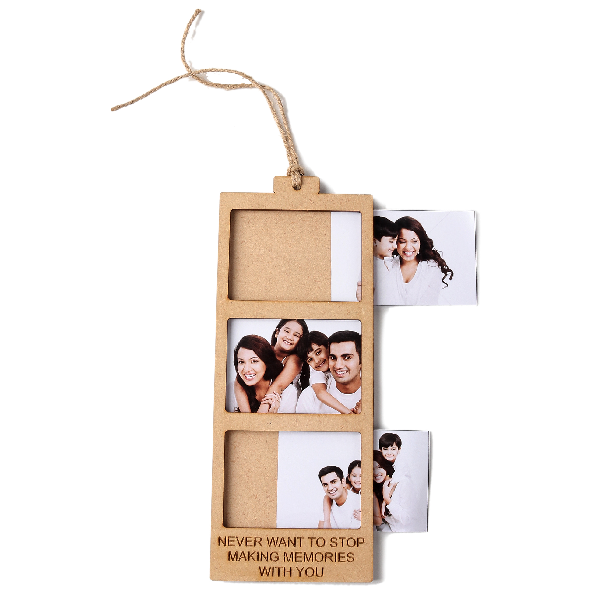 Never Want To Stop Making Memories With You - Polaroid Photo Token ( 3 Images )