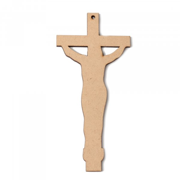 Christ Shaped Wooden Bookmark