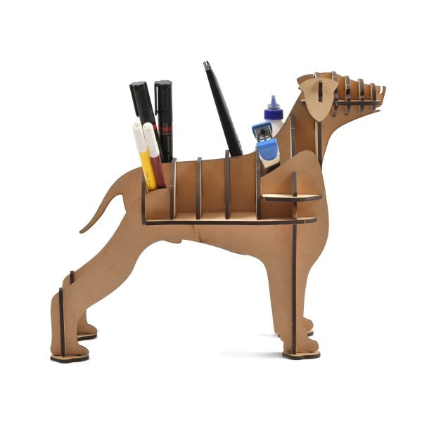 Pen Stand Dog Shaped DIY (Wooden)